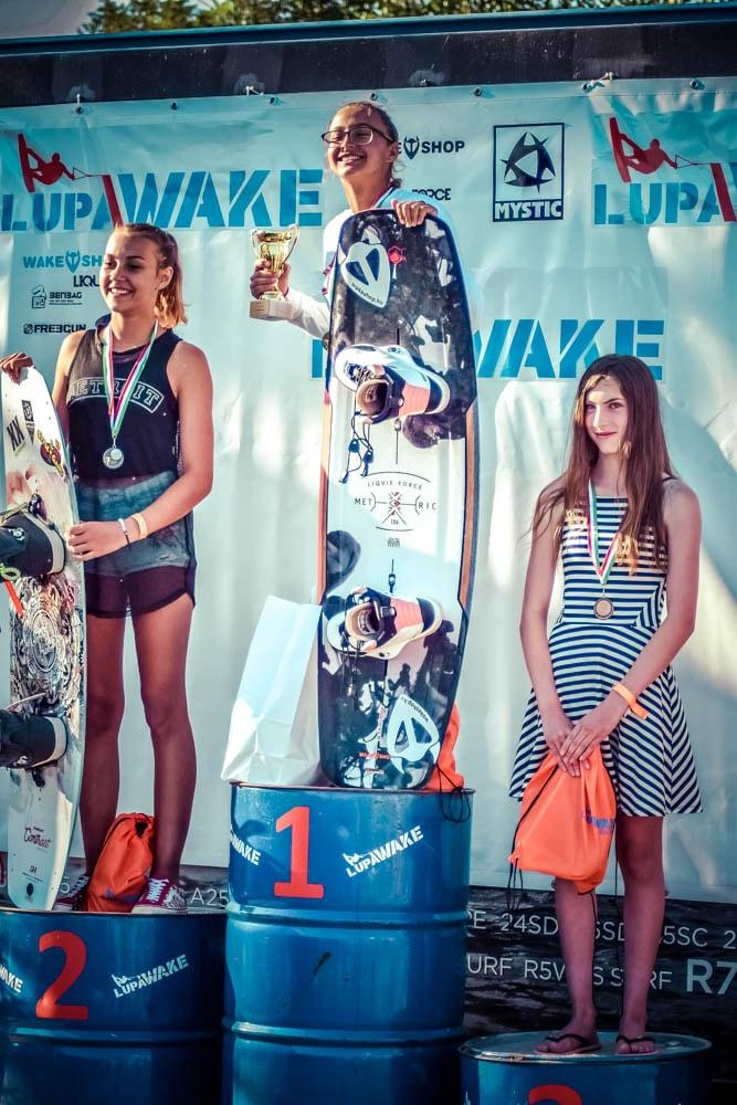 Wakeboard verseny 2018 - Helyezést elérők